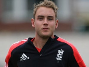 Broad out for three weeks
