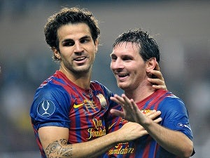 Fabregas: 'Barca are taking the Super Cup seriously'
