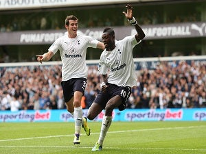 Team News: Adebayor, Defoe lead Spurs attack