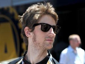 Grosjean sets fastest time