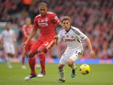Glen Johnson and Joe Allen