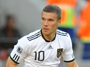Wenger happy with Podolski progress