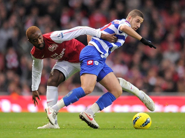 Johan Djourou and Adel Taarabt