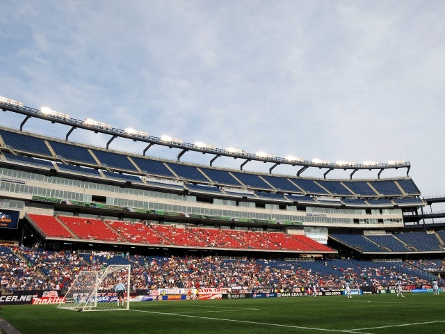 Result: New England put five past Galaxy