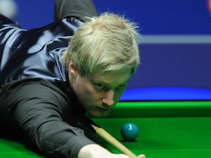 Result: Robertson wins Wuxi Classic