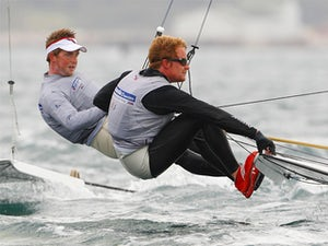 Result: Team GB miss out on men's 49er medals