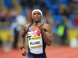 Result: Conrad Williams out of 400m