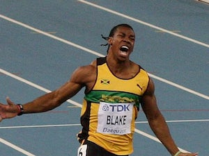 Result: Yohan Blake into 200m final