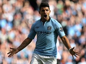Aguero eyes goals against Real