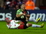 Danny Care touches down for Harlequins