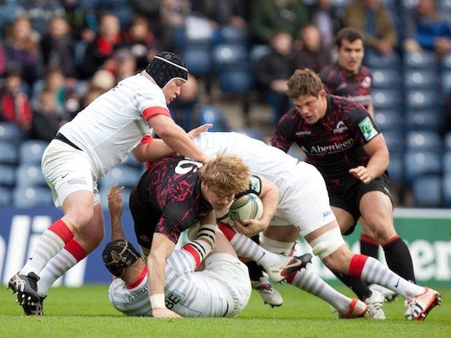Result: Saracens romp to Edinburgh victory