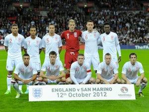England slip in FIFA rankings
