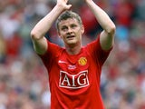 Ole Gunnar Solskjaer for Man Utd in 2008