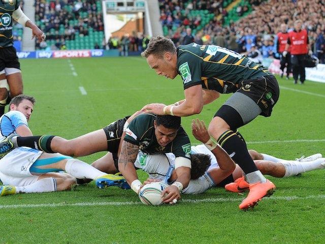 Result: Northampton storm back to earn bonus-point win