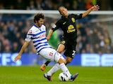 Esteban Granero and Steven Pienaar