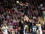 Steve Mafi wins a lineout