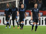 Manchester City players looking depressed