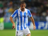 Joaquin scores a late winner for Malaga against AC Milan