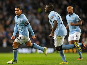 Team News: Tevez starts for City