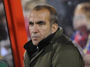 Paolo Di Canio before kickoff