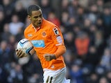 Tom Ince scores for Blackpool
