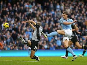 Dzeko: 'Goals are Mancini message'