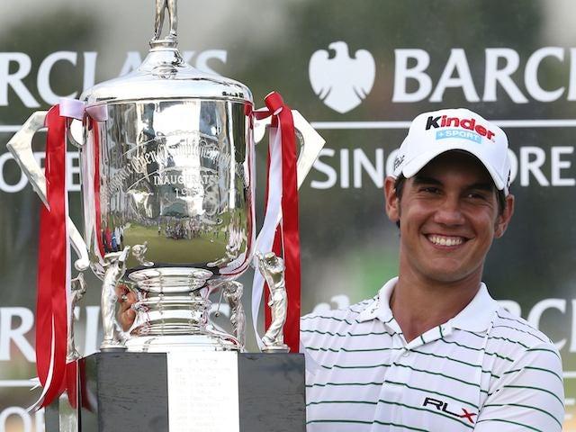 Matteo Manassero wins the 2012 Singapore Open