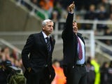 Sam Allardyce and Alan Pardew side by side