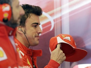 Alonso happy with third-place finish