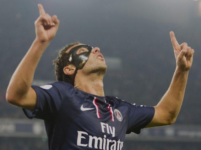 Nene scores for PSG on November 17, 2012