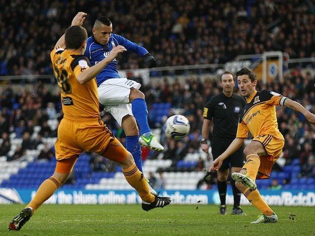 Ravel Morrison scores for Birmingham on November 17, 2012