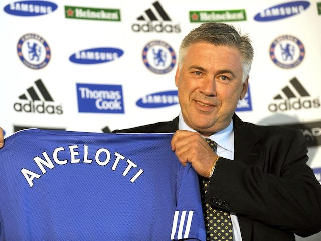 Carlo Ancelotti as Chelsea manager