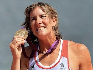 Team GB Women's Doubles gold medalist Katherine Grainger at London 2012 on August 3, 2012