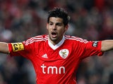 Benfica's Nolito on March 20, 2012