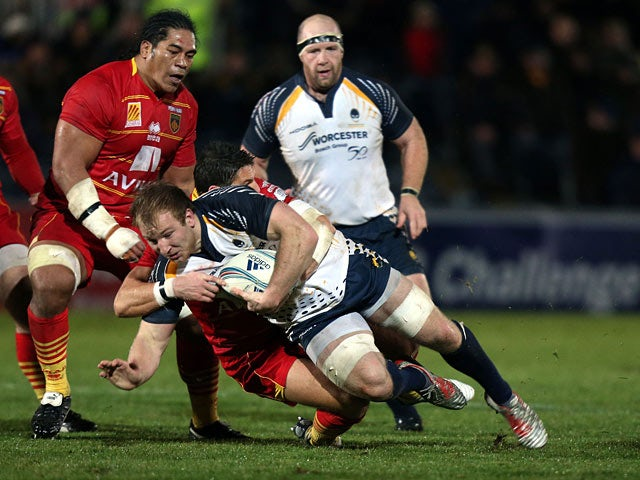 Result: Perpignan see off Worcester Warriors