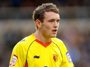 Watford's Lee Hodson on January 21, 2012