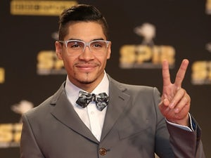 Team GB gymnast Louis Smith arrives at Sports Personality of the Year on December 16, 2012