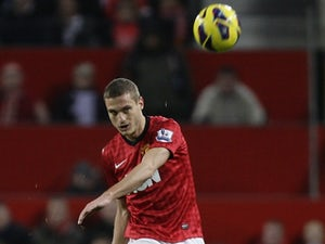 Team News: Vidic misses out for Man United