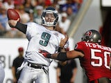 Nick Foles of the Philadelphia Eagles on December 9, 2012