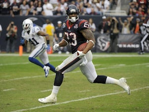 Houston Texans running back Arian Foster on December 16, 2012