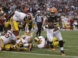 Cleveland Browns running back Trent Richardson on December 16, 2012