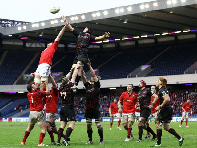 Result: Munster hold on for win