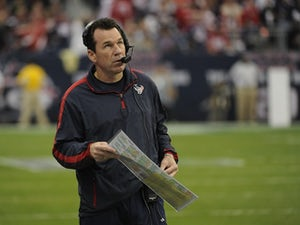 Texans Head Coach Gary Kubiak during the game with the Bengals on January 5, 2013