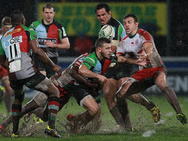 Result: Quins through to final