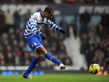 New QPR striker Loic Remy scores a debut goal at West Ham on January 19, 2013