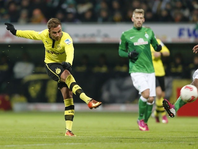 Result: Dortmund cruise into last eight