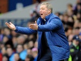 Rangers boss Ally McCoist reacts on the touchline during the match against Montrose on January 26, 2013