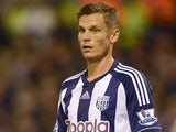 West Brom's Markus Rosenberg in action on September 26, 2012