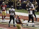 Pitta celebrates in the End Zone
