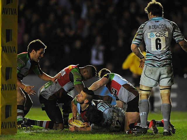 Result: Quins edge past Tigers